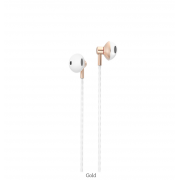 Наушники Borofone BM14 SkyMelody 3.5mm Wired Control Earphone (Золотой)