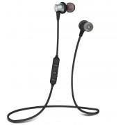 Беспроводные наушники Borofone BE11 Listening Magnetic Sports Bluetooth Earphone (Серый)