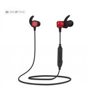 Беспроводные наушники Borofone BE5 Cool Running Magnetic Sports Bluetooth Earphone (Красный)