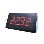 Настольные цифровые часы-будильник VST-866 (Черный)