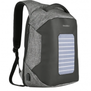 Рюкзак Антивор с солнечной батареей Baibu 1914 для ноутбука 15.6 дюймов (Серый)
