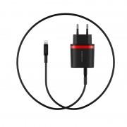 Сетевое зарядное устройствоBorofone BA7A Lightning Charger (Черный)