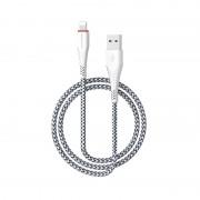 Кабель USB Borofone BX10 SmartSync Lightning 1м (Белый)