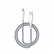 Кабель USB Borofone BX10 SmartSync Micro Usb 1м (Белый)