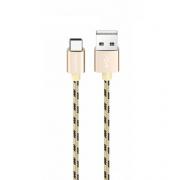 Кабель USB Borofone BX9 MagicSync Type-C 1м (Золотой)