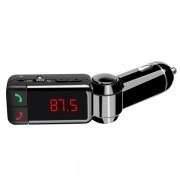 Автомобильный FM модулятор с USB зарядным устройством BC06