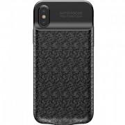 Чехол аккумулятор Baseus Power Bank Case 3500 mAH для iPhone Х iPhone ХS ACAPIPHX-BJ01 (Черный)