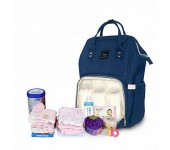 Сумка-рюкзак для мам Anello (Темно-синий)
