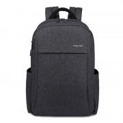 Городской рюкзак Tigernu B3221 USB с USB портом для зарядки (Серый)