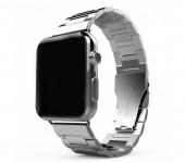 Ремешок для часов Apple Watch сталь браслет крупное звено 42 мм (Серый)