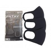 Многоразовая антибактериальная маска Patay mask 3 шт. (Черная)