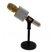 Подставка для микрофона караоке универсальная Microphone Stands F-3 (Черный)