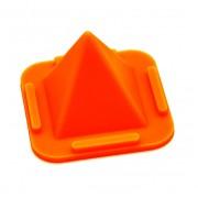 Подставка держатель для телефона пирамида (Оранжевый)