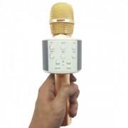 Беспроводной Bluetooth And Hifi микрофон караоке Ws 858-1 (Золотой)