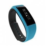 Водонепроницаемый смарт-браслет часы w808s (Голубой)