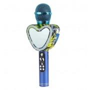 Беспроводной Bluetooth портативный караоке микрофон Q5 (Синий)