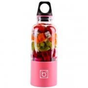 Bingo Juicer Bottle Cup бутылка с блендером (Розовый)