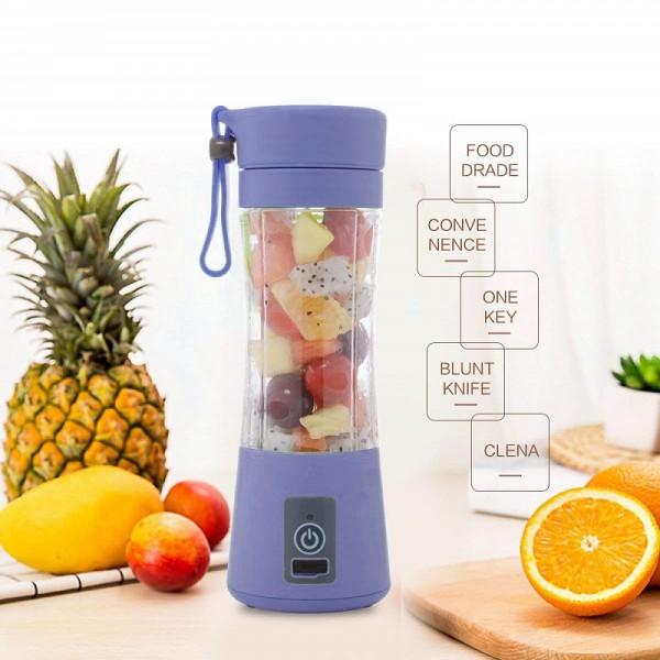 Бутылка блендер (шейкер) Daiweina Juicer Cup (Фиолетовый)