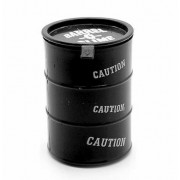 Лизун антистресс жвачка для рук Barrel O Slime в канистре (Черный)