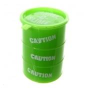Лизун антистресс жвачка для рук Barrel O Slime в канистре (Зеленый)