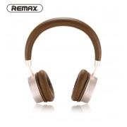 Беспроводные накладные Bluetooth наушники Remax 520HB (Коричневый)