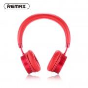 Беспроводные накладные Bluetooth наушники Remax 520HB (Красный)