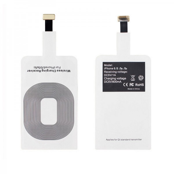 Qi ресивер приемник для беспроводной зарядки на Apple iPhone
