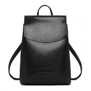 Рюкзак French натуральная кожа (Черный)