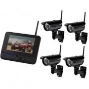 Беспроводной комплект видеонаблюдения 8107JM4 c 4 камерами