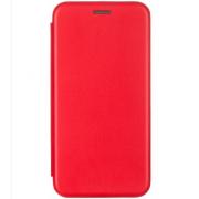 Чехол-книжка для Meizu M5C с магнитами, с визитницей и подставкой (Красный)