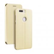 Чехол-книжка для Huawei Honor 8 с магнитами, с визитницей и подставкой (Золото)