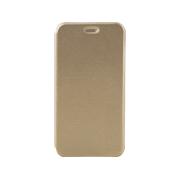 Чехол-книжка для Asus Zenfone 4 с магнитами, с визитницей и подставкой (Золото)