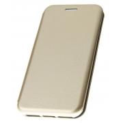 Чехол-книжка для Nokia 8 с магнитами, с визитницей и подставкой (Золото)