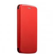 Чехол-книжка для Xiaomi Redmi 4X с магнитами, с визитницей и подставкой (Красный)