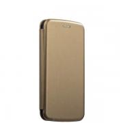 Чехол-книжка для Xiaomi Redmi 4X с магнитами, с визитницей и подставкой (Золотой)