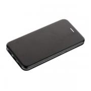 Чехол-книжка для Xiaomi Redmi 5 plus с магнитами, с визитницей и подставкой (Черный)