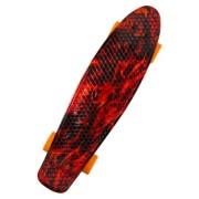 Скейт Cruiser узор миниграфический (Оранжевый)