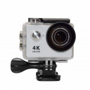 Экшен-камера Action camera 4K Ultra HD XPX H5L (Серебристый)