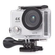 Экшен-камера Action camera 4K Ultra HD XPX H7R Wi-Fi + пульт (Серебристый)