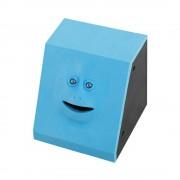 Эмоциональная жующая копилка Face Bank (Голубой)