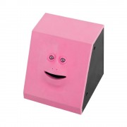 Эмоциональная жующая копилка Face Bank (Розовый)