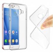Чехол силиконовый мягкий для Samsung Galaxy C7 Pro (Прозрачный)