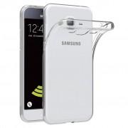 Чехол силиконовый мягкий для Samsung Galaxy J3 2016 (Прозрачный)