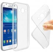 Чехол силиконовый мягкий для Samsung Galaxy J5 2016 (Прозрачный)