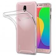Чехол силиконовый мягкий для Samsung Galaxy J7 Pro (Прозрачный)