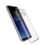 Чехол силиконовый мягкий для Samsung Galaxy S8 Plus (Прозрачный)