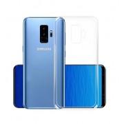 Чехол силиконовый мягкий для Samsung Galaxy S9 Plus (Прозрачный)