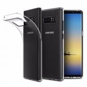Чехол силиконовый мягкий для Samsung Galaxy Note 8 (Прозрачный)