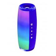 Портативная колонка Bluetooth Z11 с цветомузыкой (Синий)