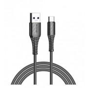 Дата кабель Awei CL-69 Type-C Smart Fast 1м 5А (черный)